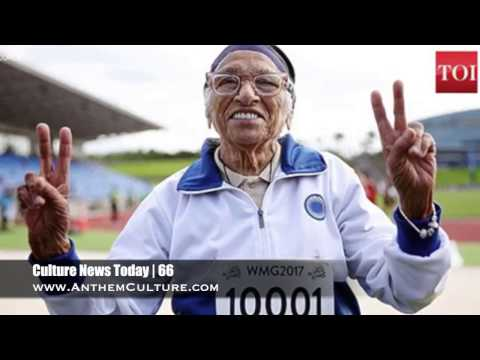 Culture News Today | 100-Year Old Sprinter, Kazakh Street Style, Syrian Restaurants