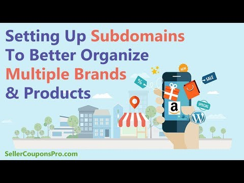Setting Up Subdomains For Better Organization With Unrelated Products