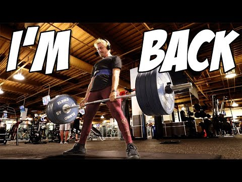 THE PLATEAU HAS ENDED..FOR NOW (POWERLIFTING VLOG)