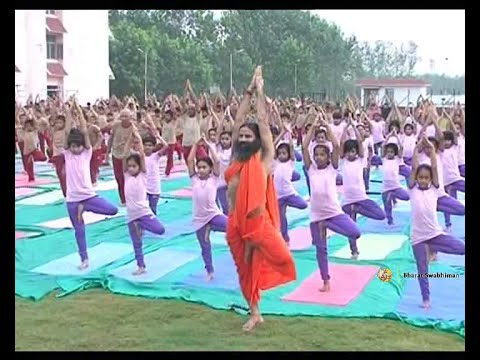 Yoga for Students by Swami Ramdev | 21 Aug 2015 (Part 1)