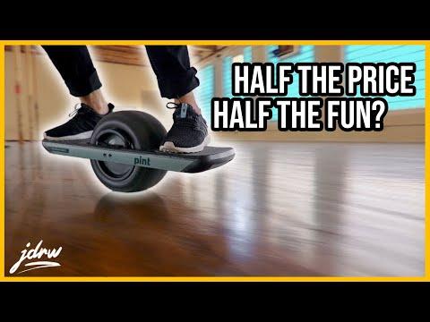 Onewheel PINT - Half the price! Half the fun?