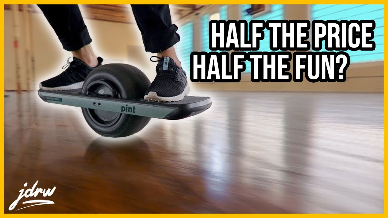 Onewheel PINT - Half the price! Half the fun?