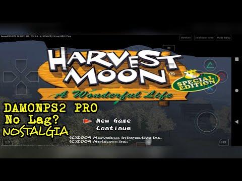 Harvest Moon A Wonderful Life Special Edition( HM AWL SE ) - DamonPS2 Pro V3.1.2