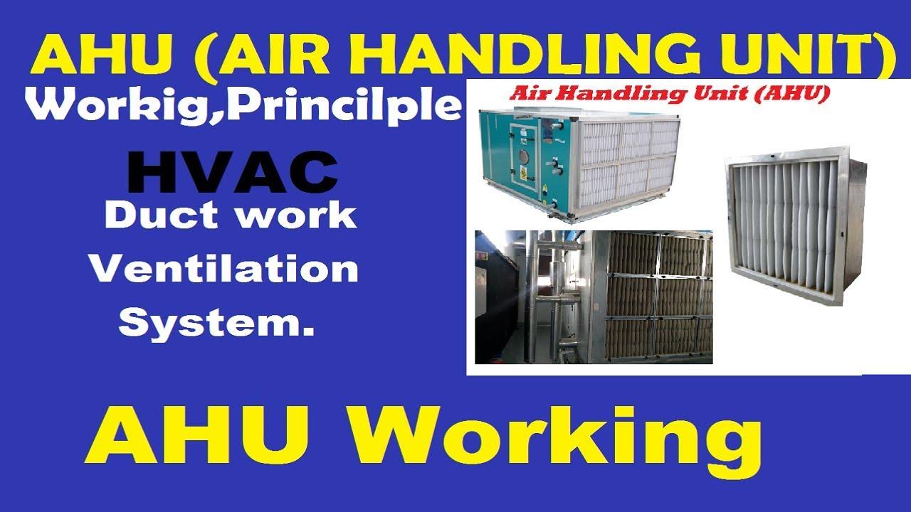Ahu Air Handling Unit In हिन्दी Hindi Working