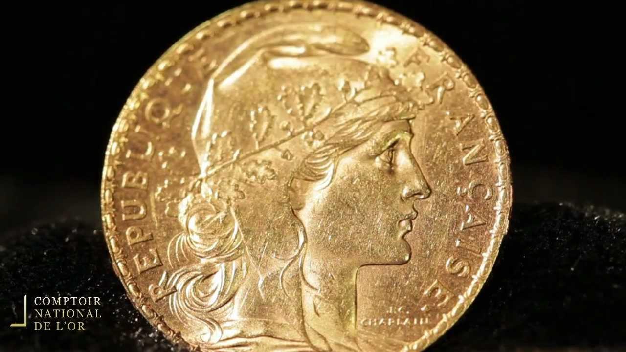 Piece Napoleon 20 Francs En Or Louis Or Comptoir National De L