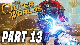 THE OUTER WORLDS Gameplay Walkthrough Part 13 - Clive and Factory! FULL GAME PS4 PRO