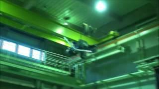 模型飛行機飛行試験 金沢工業大学 岡本研究室 -large camber wing-