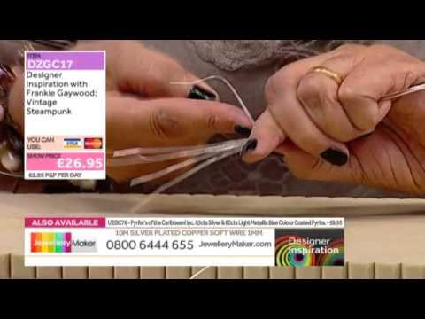 [How to make Steampunk Jewellery] - JewelleryMaker DI 17/9/14