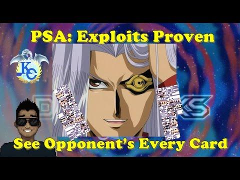 Yu-Gi-Oh Duel Links - PSA: HACKS AND EXPLOITS EXIST W/ PICS  Short