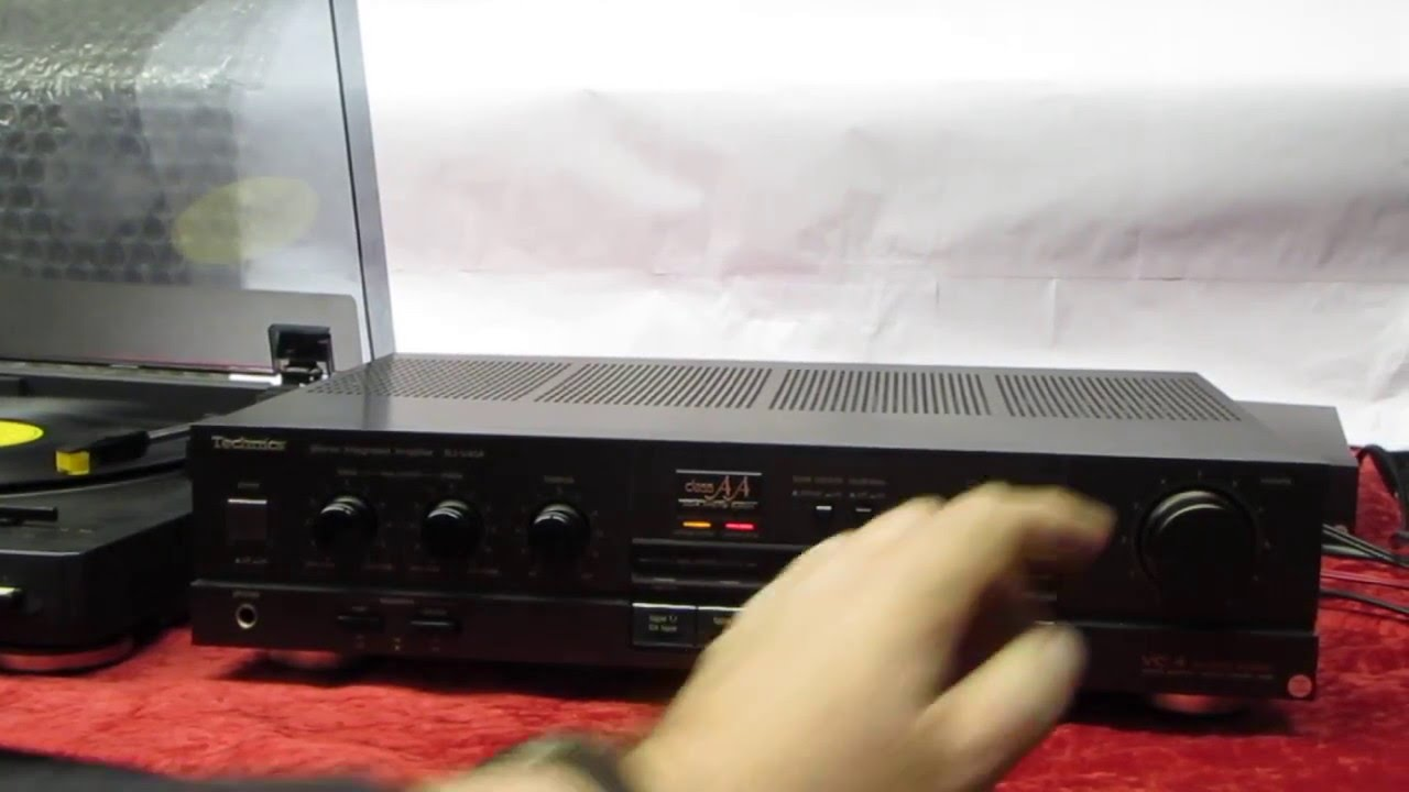 ** NOW SOLD ** TECHNICS SU-V45A STEREO INTEGRATED AMPLIFIER