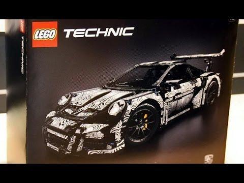 Lego Technic 42056 Porsche 911 Gt3 Rs Youtube