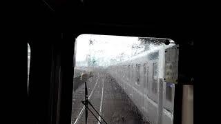 東急8500系の前面展望 8631Fの1303K運用、久喜行・急行(北千住→東武動物公園)東武スカイツリーライン