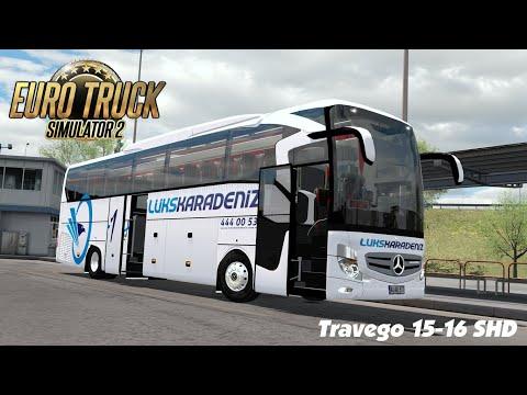 Euro Truck Simulator 2 - Travego 15-16 SHD 2020 Euro 6 | ETS2 Mods 1.37