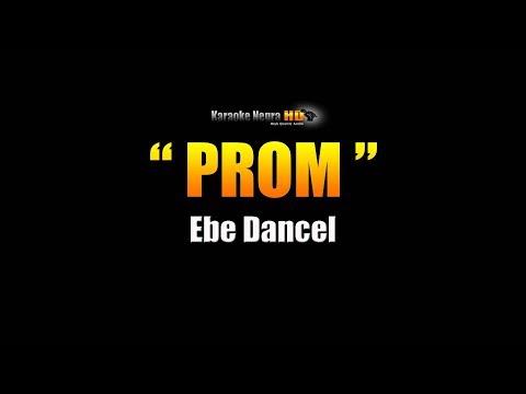 PROM - Ebe Dancel (Karaoke)