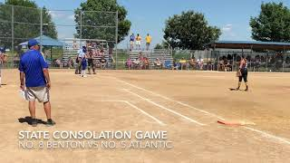 Softball highlights: Benton vs Atlantic