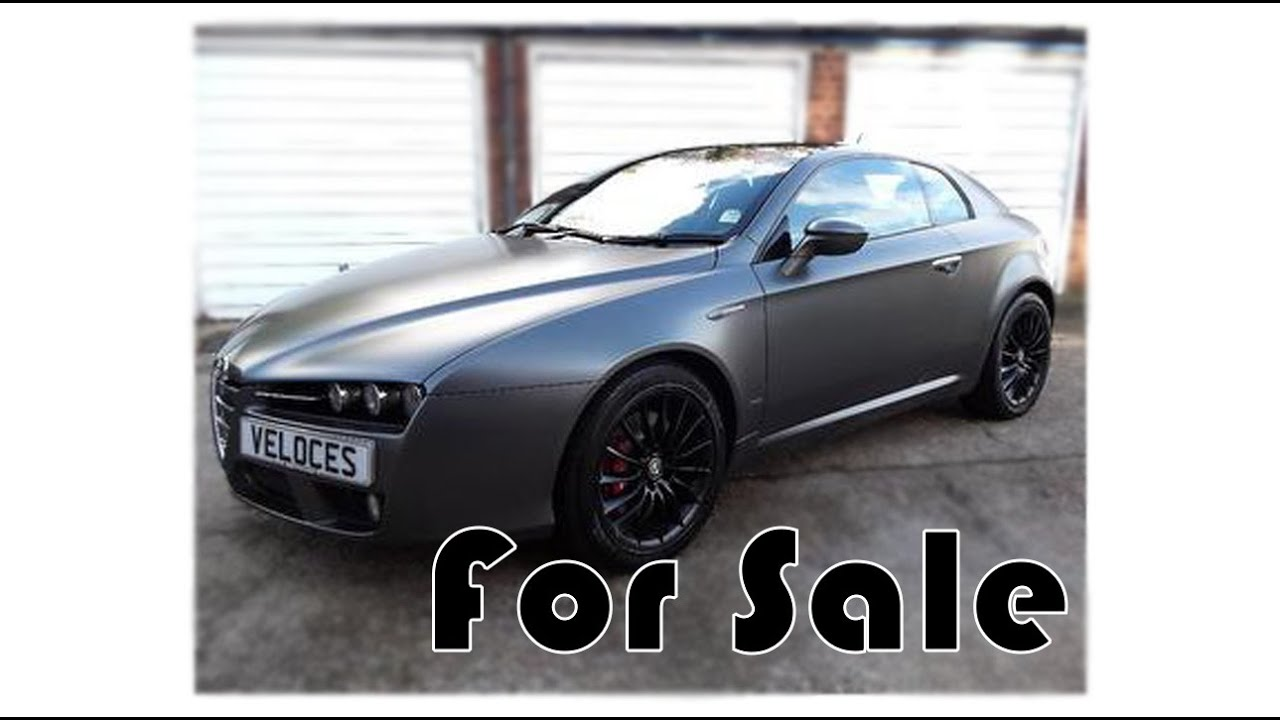 Alfa Romeo Brera Italia Independent FOR SALE - YouTube