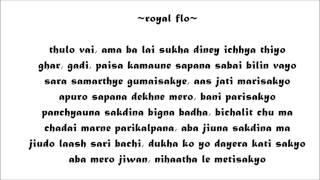 daSoch: Asakta Zindagi [Lyrics Video]   Nephop   New Nepali Rap 2013