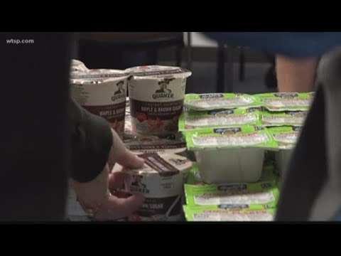 Andi and Kenny  - Daily Do Good: Airport Food Bank Set Up For Unpaid Federal Workers