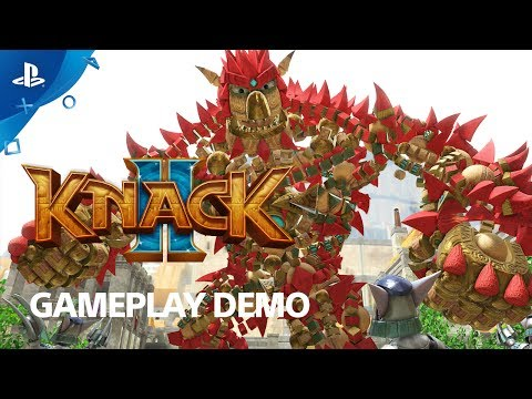 Knack 2 - PS4 Gameplay Demo | E3 2017