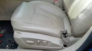 Saab NG 9-5 Seat Heater Replacement