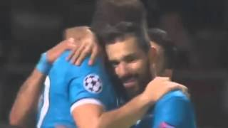 Лион Зенит 0-1 гол Дзюба
