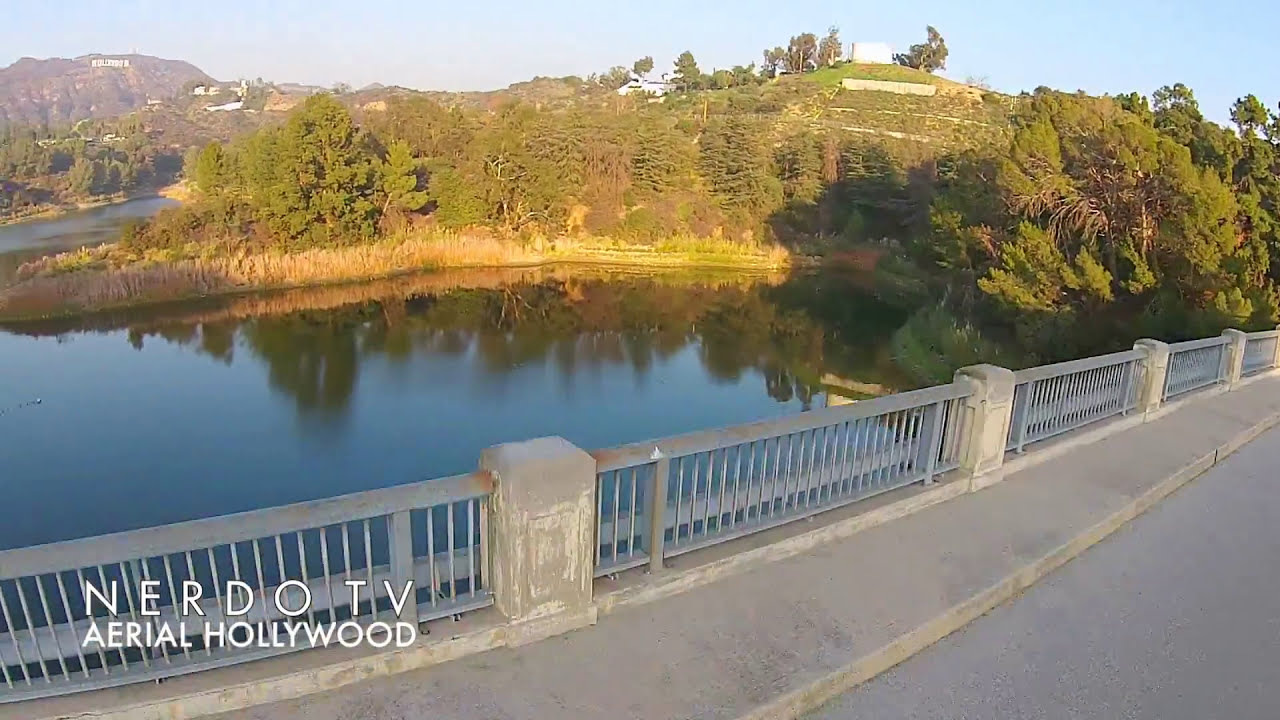 Dji Phantom 3 Drone >> Flying Drone at Lake Hollywood with DJI Phantom - YouTube