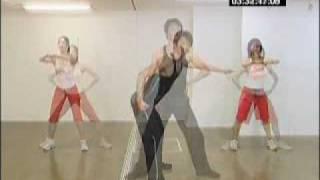 エアロビクス ウォーミングアップ~筋力トレーニング .flv thumbnail