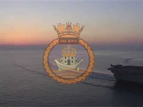 HMS Ark Royal - Sailing