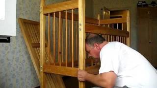 6-й день Как собрать кроватку детскую.Елизавета