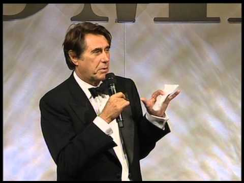 Brian Ferry of Roxy Music Accepts the Icon Award at the 2008 BMI London Awards