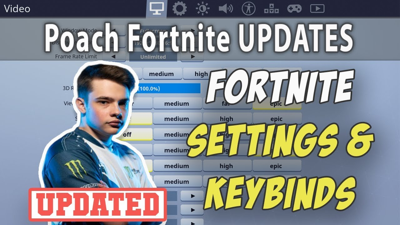 poach fortnite settings and keybinds updated april 2019 - liquid poach fortnite keybinds