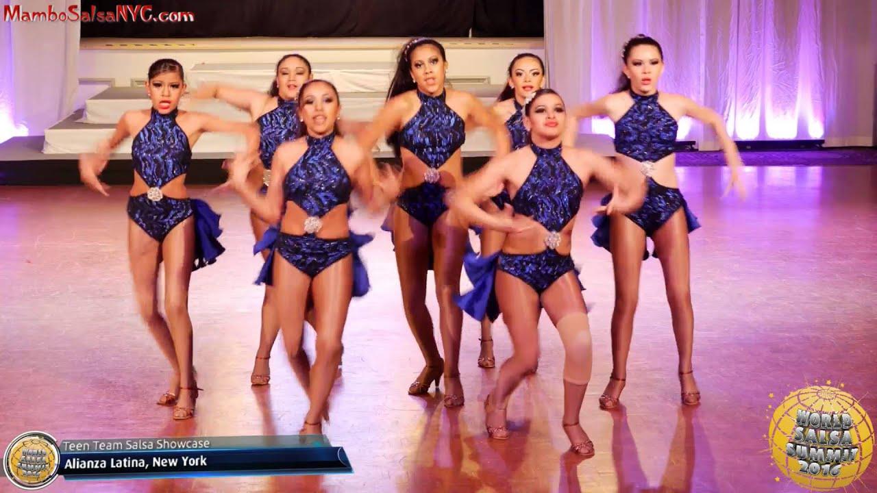 Wss16 Feb6 Junior Open Salsa Cabaret Teen Team Salsa Junior Team
