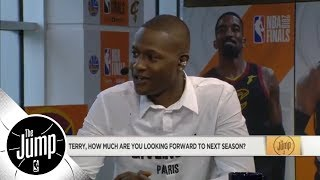 Terry Rozier on Kyrie Irving: He is the Celtics starting PG next season | The Jump | ESPN