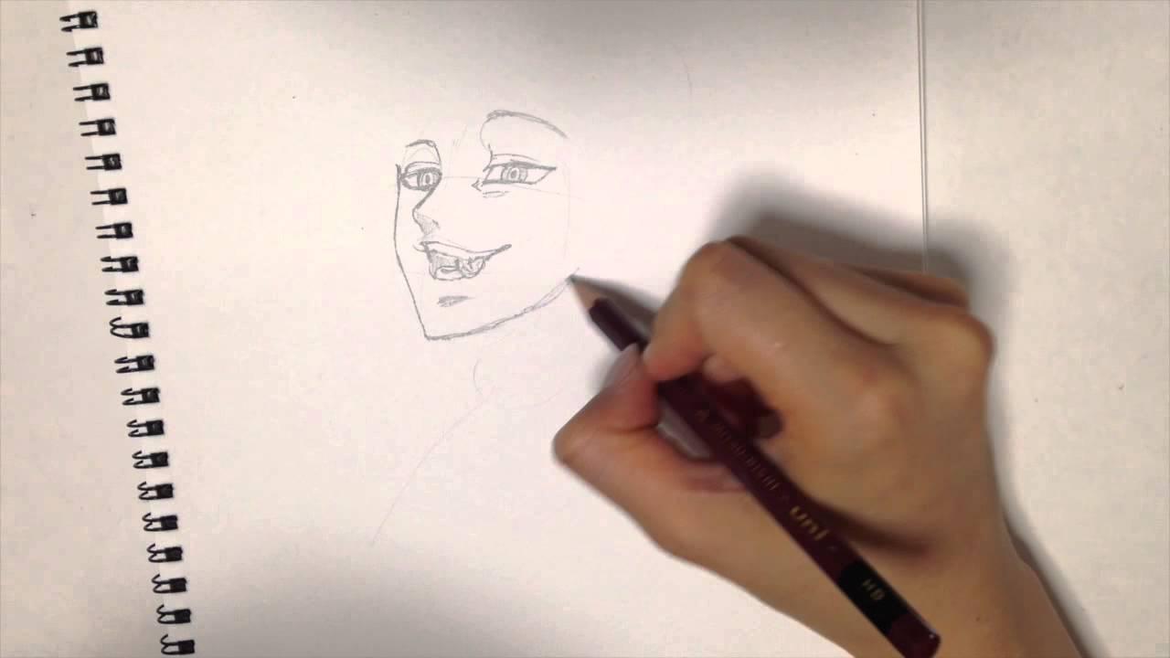七つの大罪 登場人物バンを描いてみた Youtube
