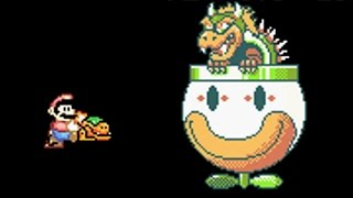 Super Mario Advance 2 - All Bosses