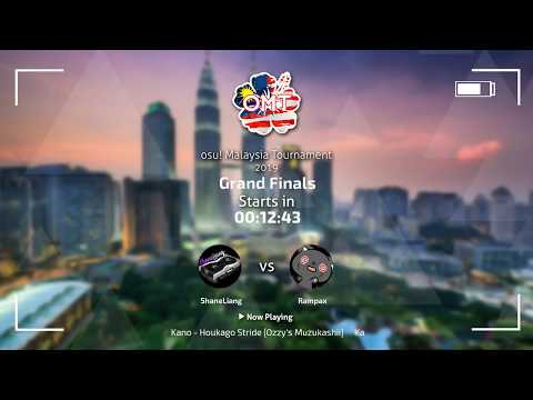 OMT 2019 Grand Finals - ShaneLiang Vs Rampax