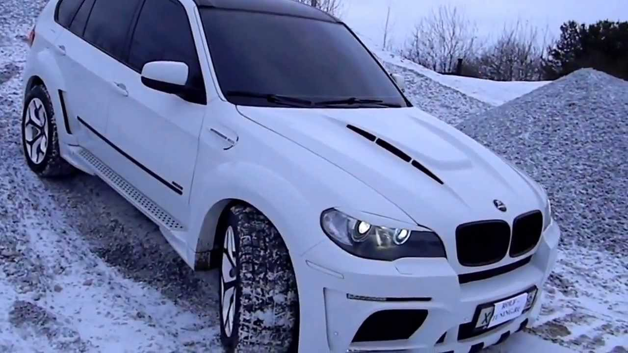 Ice White Bmw X5 In Snow 2013 Check It Youtube