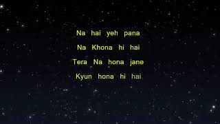 Tum Se Hi - Jab We Met (Karaoke Version)