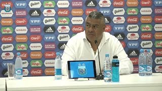 Conferencia de prensa de Tapia