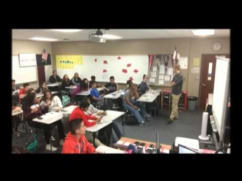 Life Cycle Class video of using student response center April 6 2016