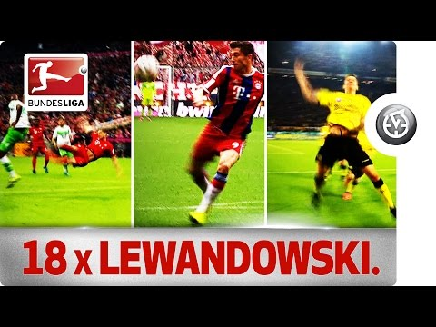 Robert Lewandowski vs. 18 Clubs