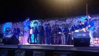 Batucada Gran Rey en la Gala Pibe Vístete de Piba 2014, La Gomera