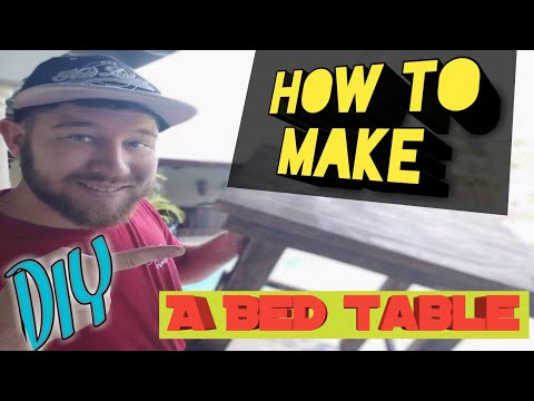 How to make a bed table with pallet wood / DIY Projects / Handy Man
