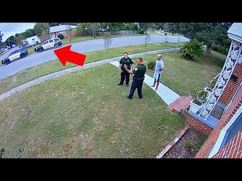 THIS is WHY I have SECURITY CAMERAS!