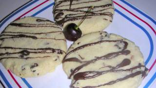 Cherry Shortcake Cookies Recipe