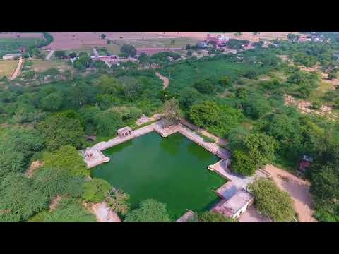 Govardhan parikrama from air..