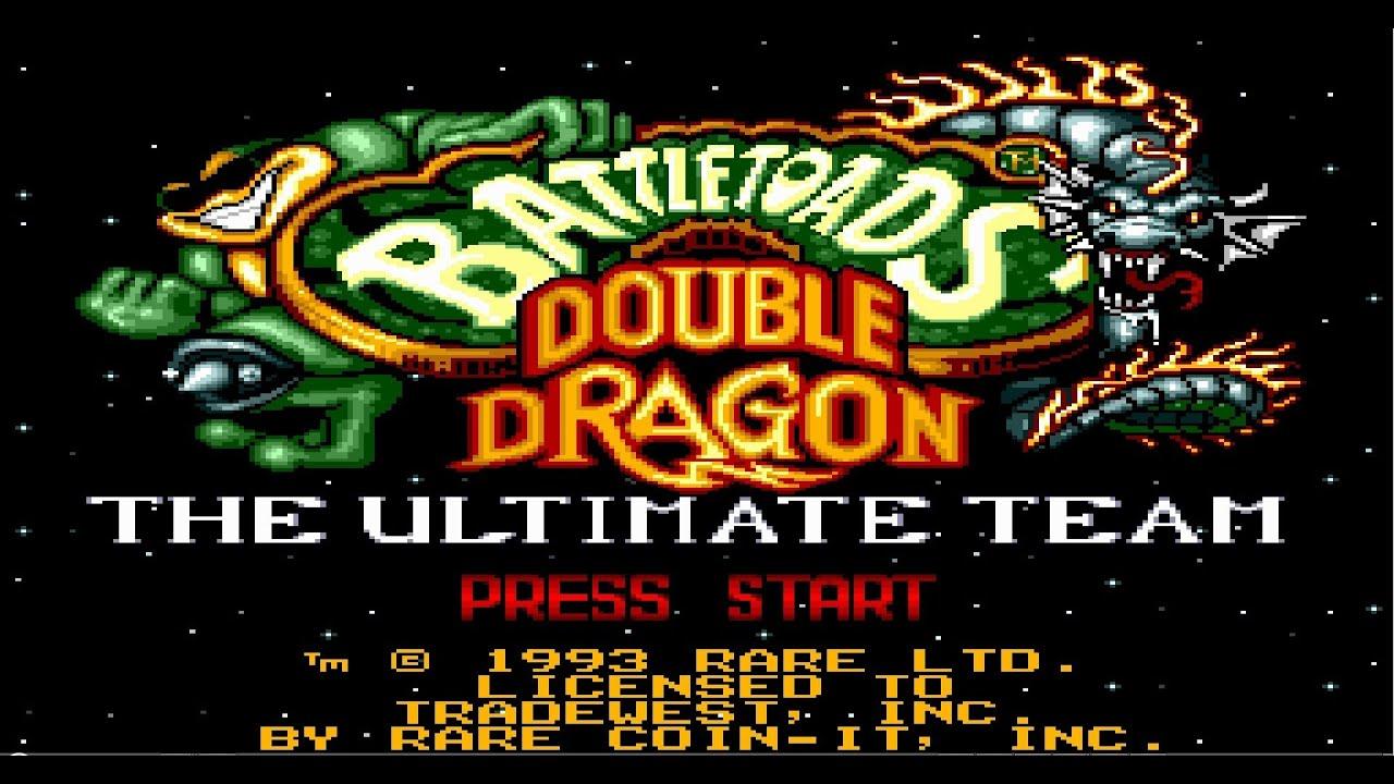 Battletoads & Double Dragon [GEN/SMD] 23:07 SpeedRun NoDeath