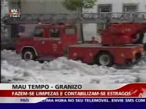 Granizo Oliveira de Frades - 19ABR2007