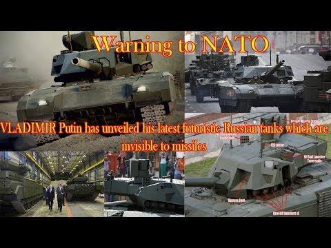 Russia futuristic INVISIBLE tanks represents new threat