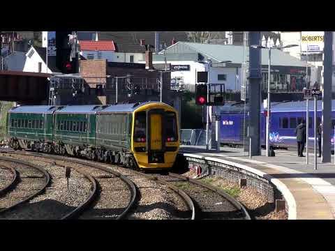 Trains at Newport (Casnewydd) | 5th April 2018